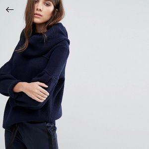 Warehouse Infinity Scarf Sweater
